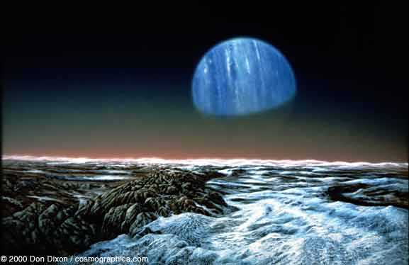 Neptune Planet Surface Features - Pics about space