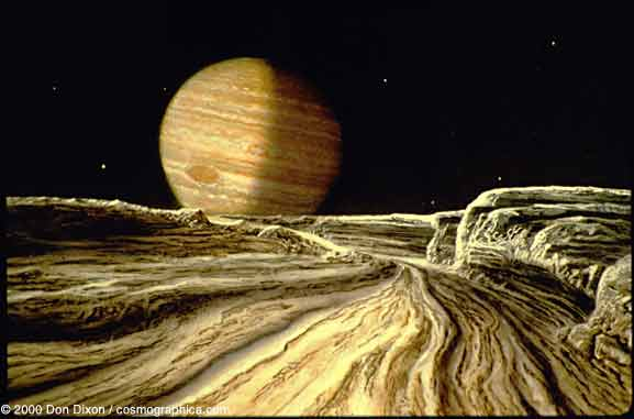 Ganymede and Callisto: Could There Be Life On These Moons ...
