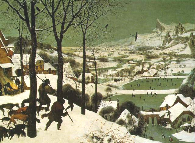 Pieter Breughel - Winter